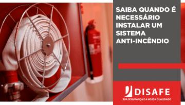 Saiba quando é necessário instalar um sistema anti-incêndio