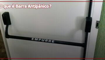 O que é Barra Antipânico?